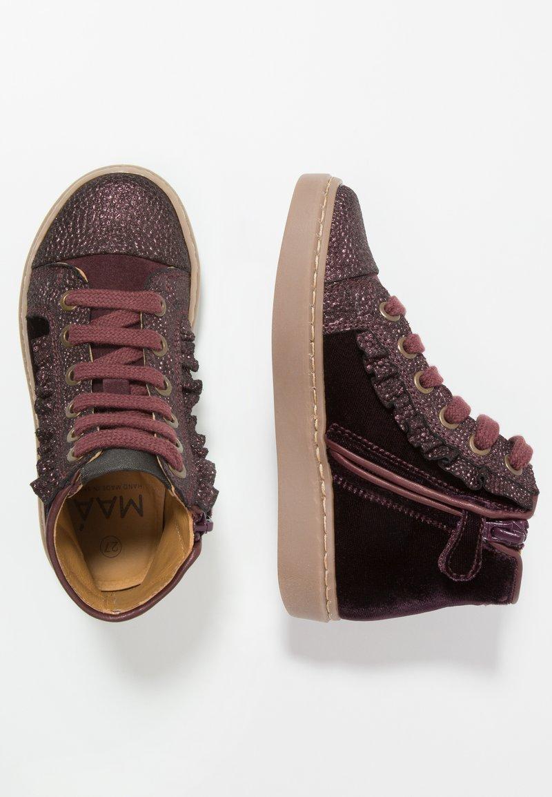 MAÁ - YAMATA WINE - Sneakers alte - bordeaux