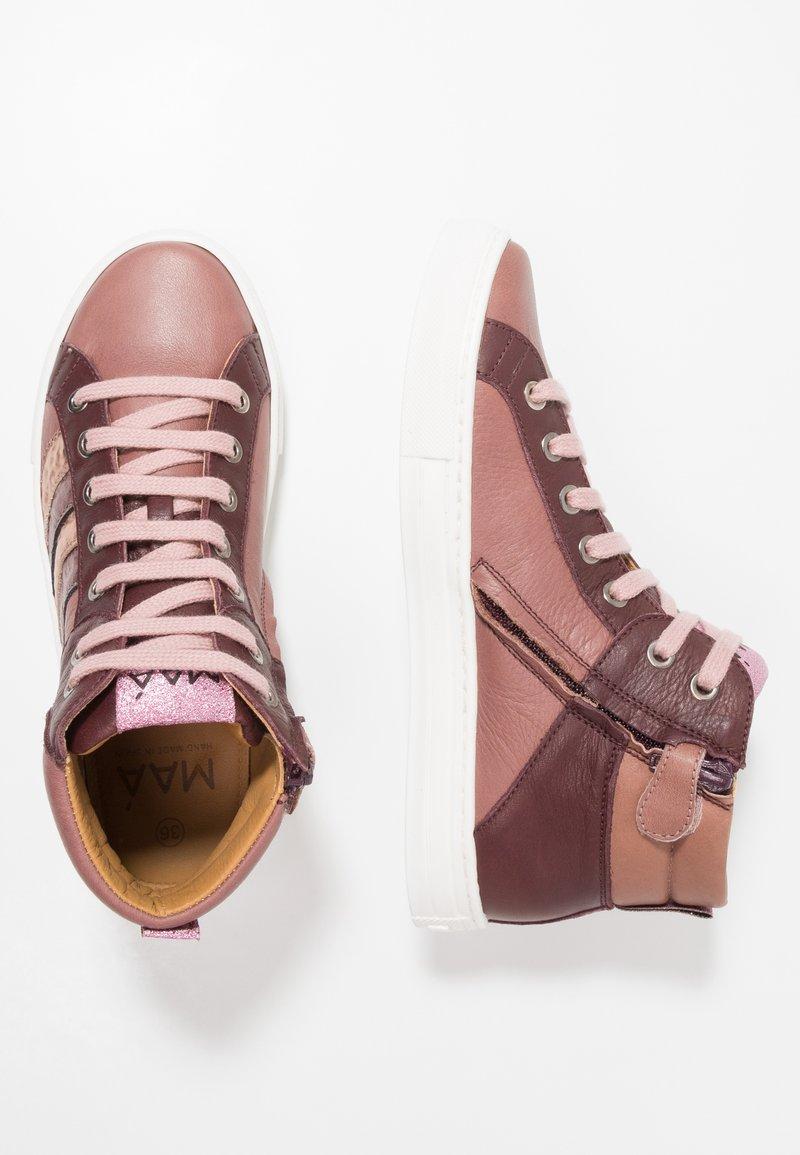 MAÁ - AERENSUGE SOHO - Sneaker high - altrosa
