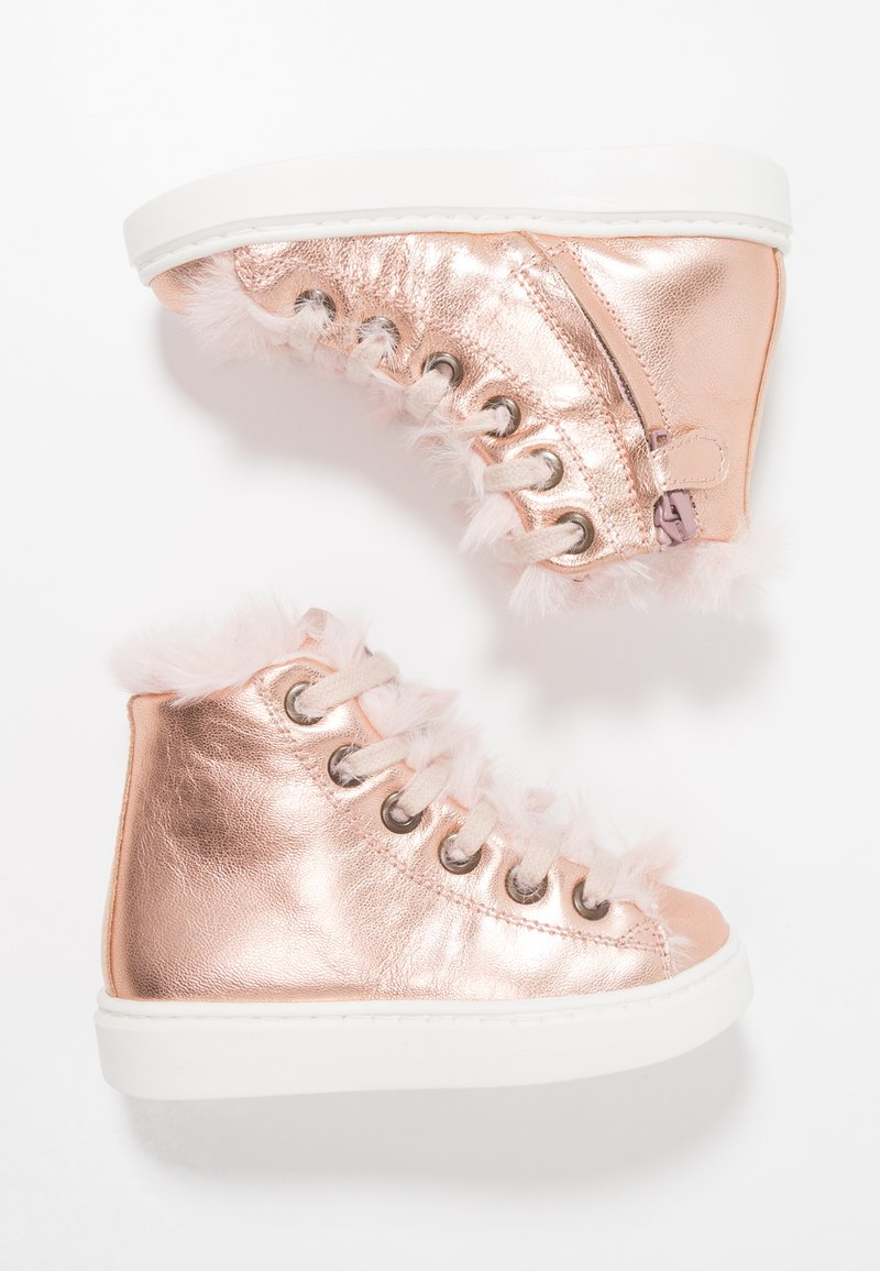 MAÁ - HERENSUGE RAME - High-top trainers - rosa metallic