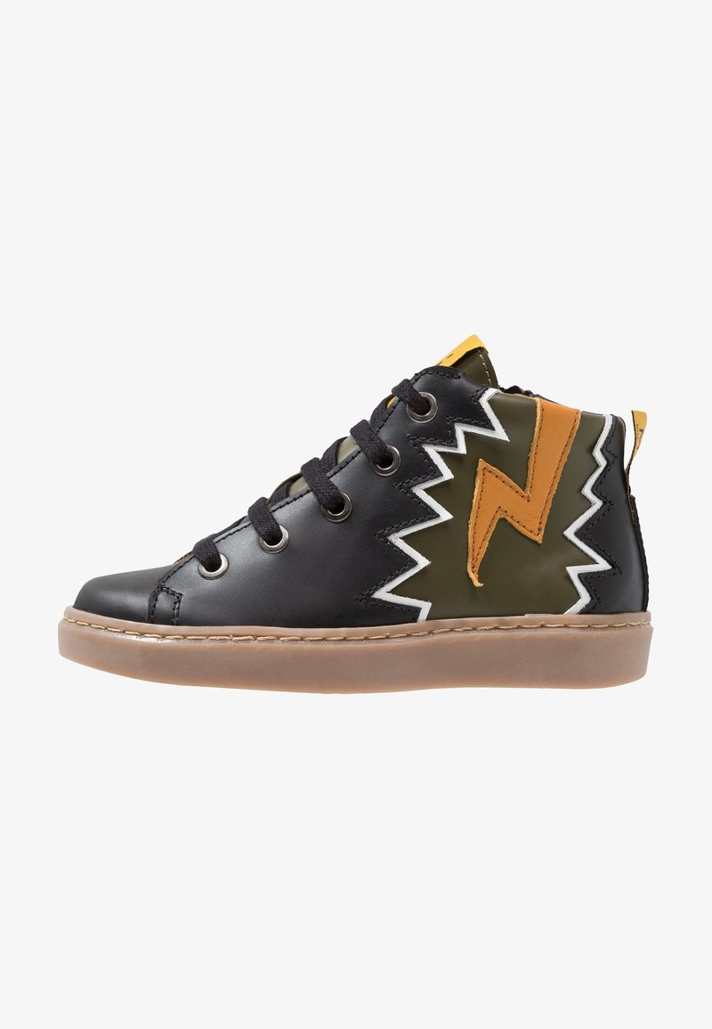 MAÁ - ANPHIPTERES - High-top trainers - black technic