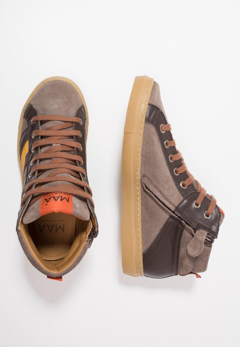 MAÁ - FAFNIR - Sneakers hoog - dunkelgrau