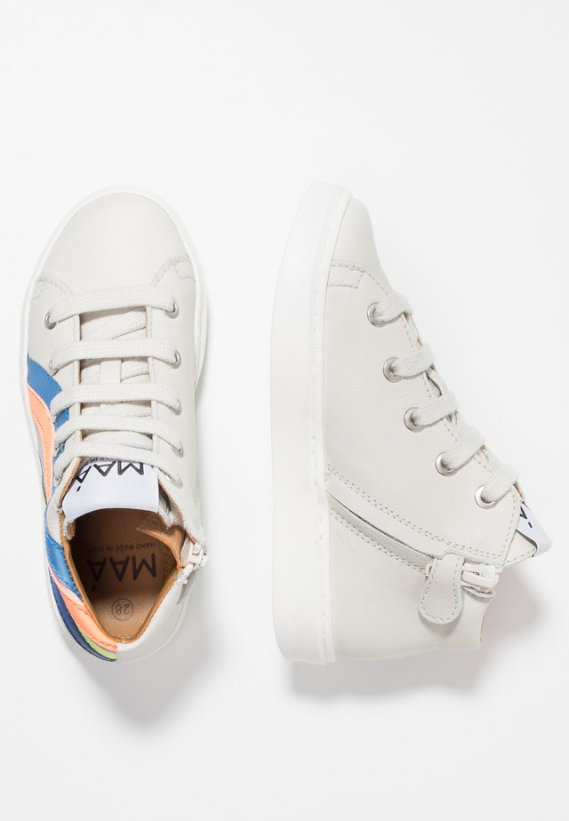 High-top trainers - jackson offwhite