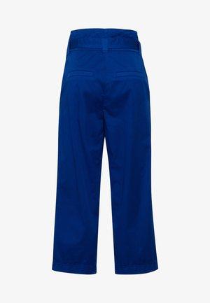 MARC AUREL PAPERBAG IN SOMMERLICHER QUALITÄT - Trousers - dark blue