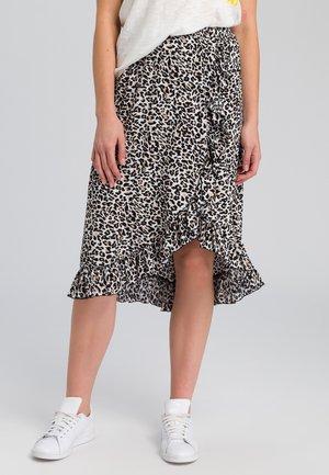 A-line skirt - sand