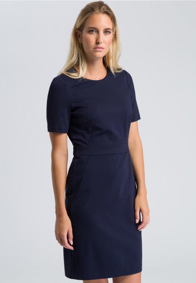 Shift dress - navy