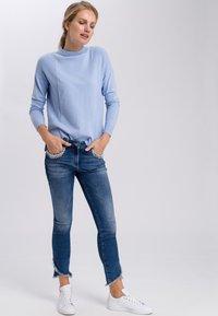 Marc Aurel - MIT TURTLENECK - Jumper - blue - 1