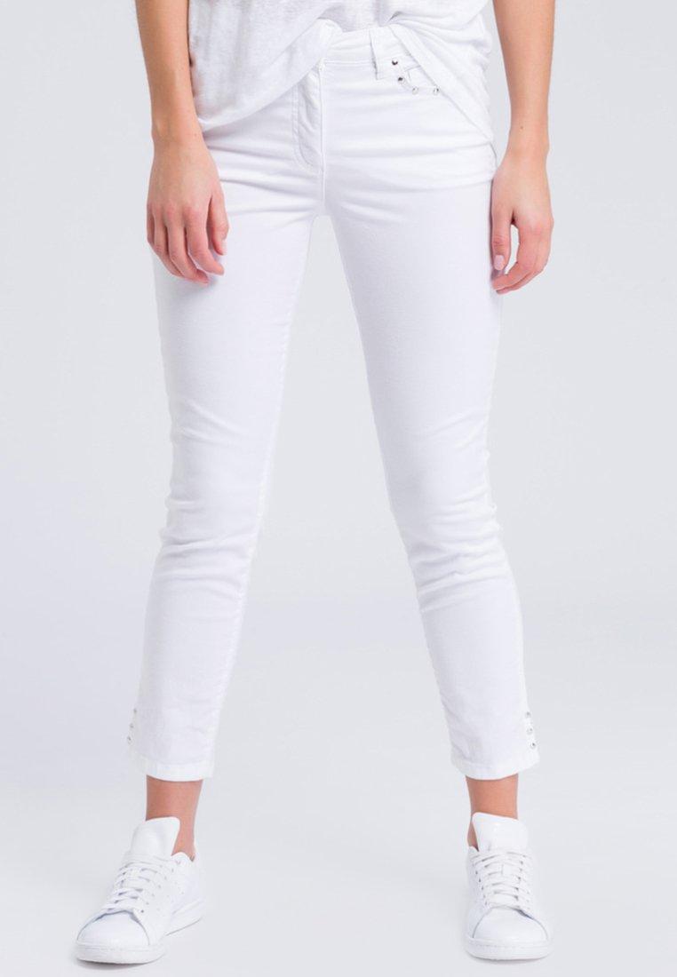 Marc Aurel - MIT NIETEN - Jeans Skinny Fit - white