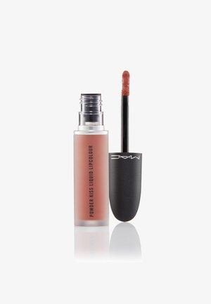 POWDER KISS LIQUID LIPCOLOUR - Vloeibare lippenstift - over the taupe