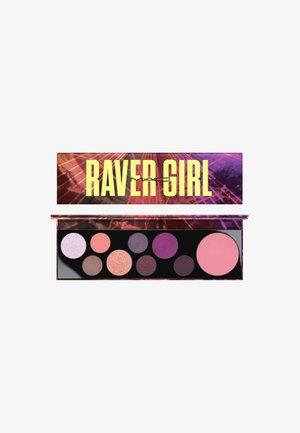 M·A·C GIRLS EYESHADOW PALETTE - Palette fard à paupière - raver girl