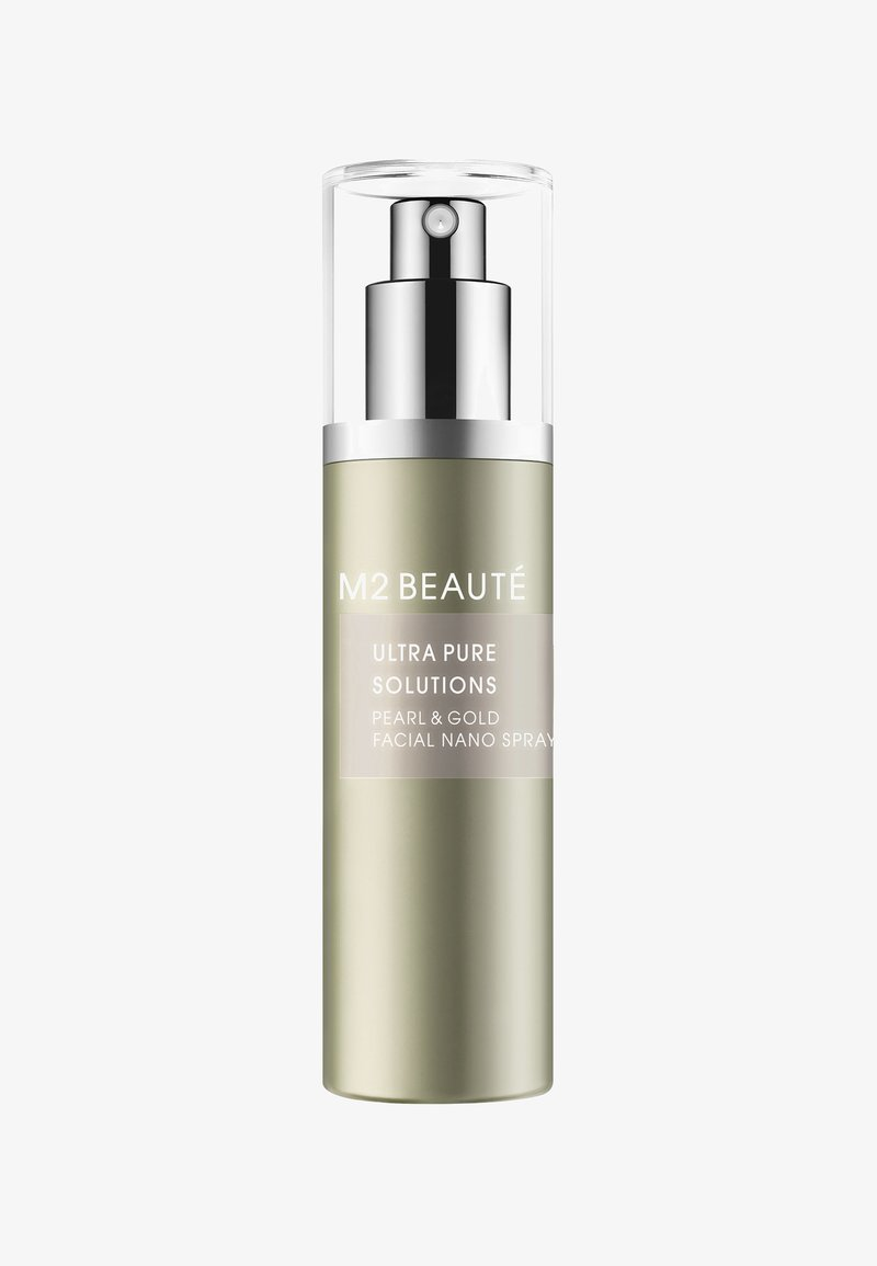 M2 BEAUTÉ - FACIAL NANO SPRAY PEARL & GOLD 75ML - Toner - -