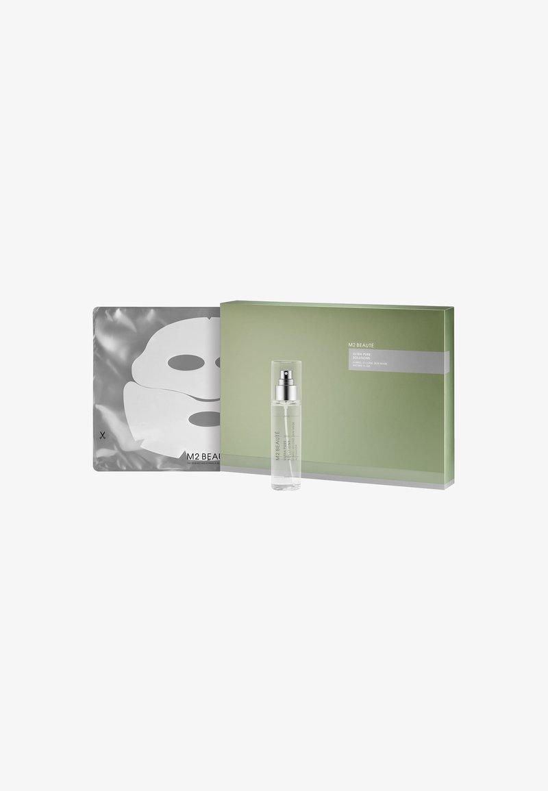 M2 BEAUTÉ - HYBRID SECON SKIN MASK BROWN ALGA - Face mask - -
