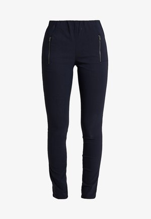 BASIC - Trousers - navy
