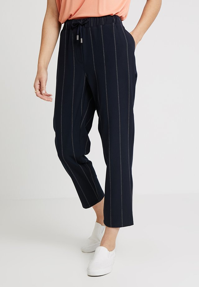 PETRA CULOTTE - Trousers - navy