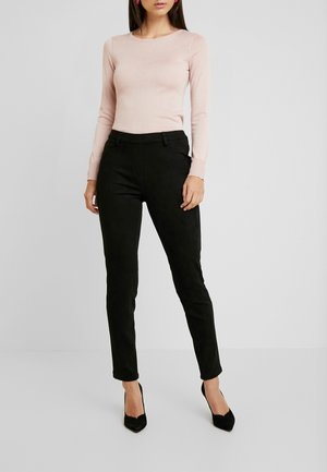 PAPIA TROUSERS - Trousers - black