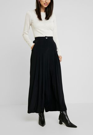 PERO TROUSERS - Pantalones - black