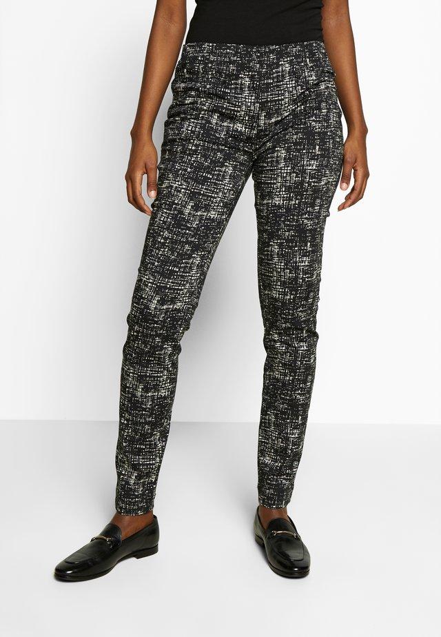 POPPY - Pantalon classique - black