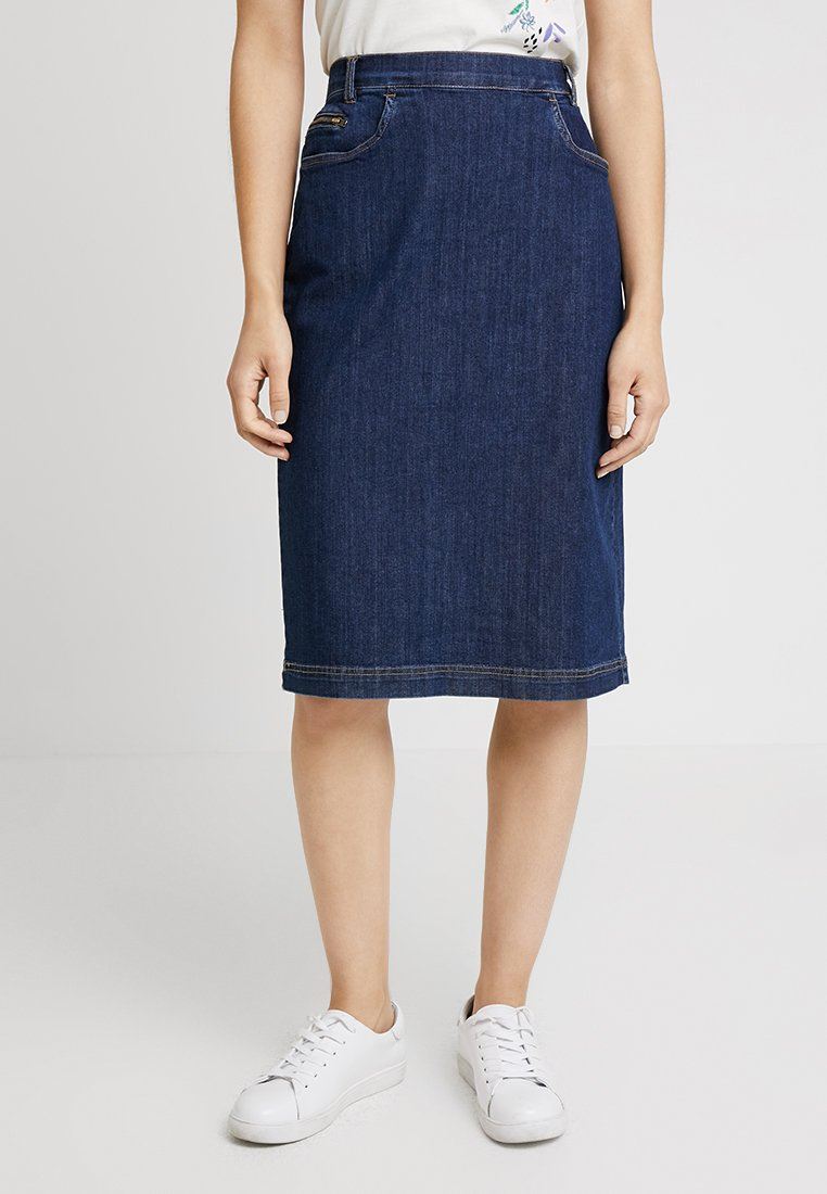 Masai - SABA SKIRT - Jupe en jean - dark denim