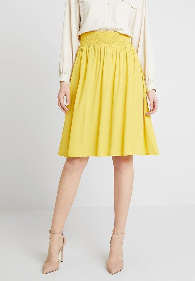 SANNE SKIRT - A-line skirt - corn