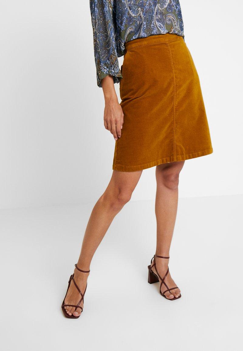Masai - SOLEIL SKIRT - A-line skirt - ginger