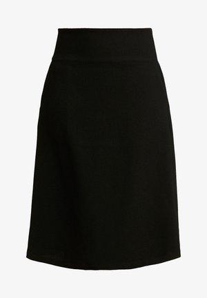 SARA - A-line skirt - black