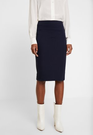 SUE - Pencil skirt - navy