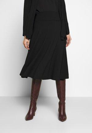 SABA - Spódnica trapezowa - black
