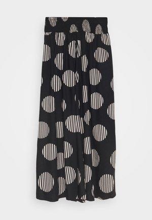 SADIE - Áčková sukně - black