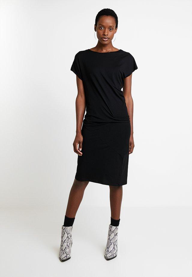 OCEAN DRESS - Vestito di maglina - black