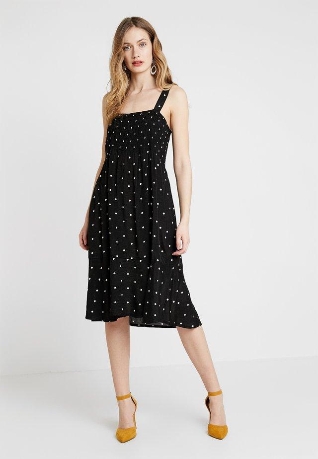OPAL DRESS - Freizeitkleid - black