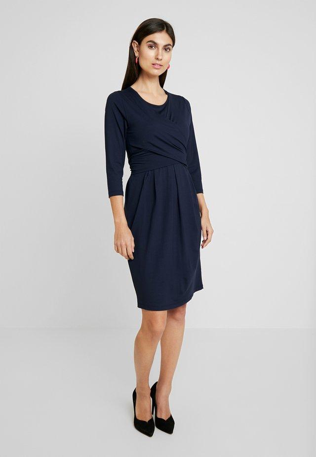 NOPISSA DRESS - Jersey dress - navy