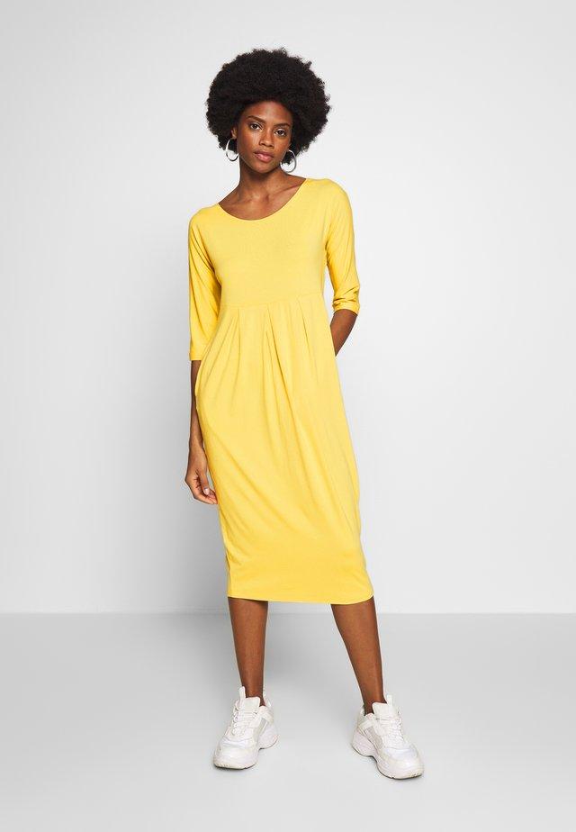 NIMA - Jersey dress - cream gold