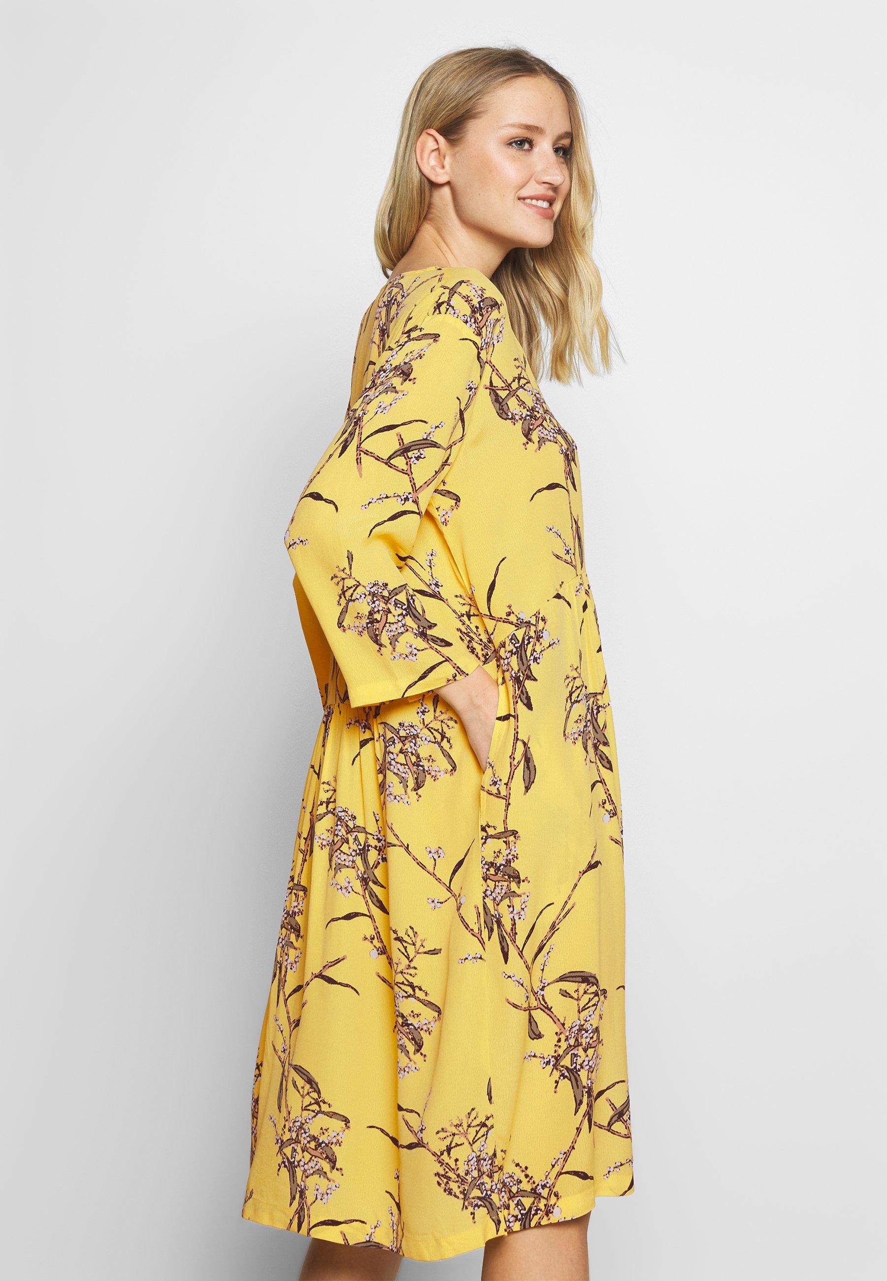Masai NASLI - Sukienka letnia - cream gold