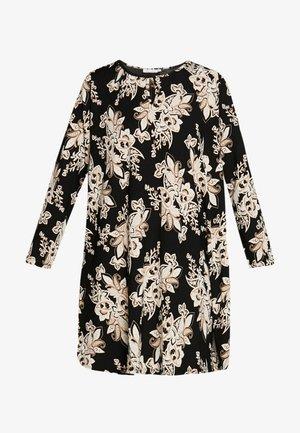 GLOW - Denní šaty - black