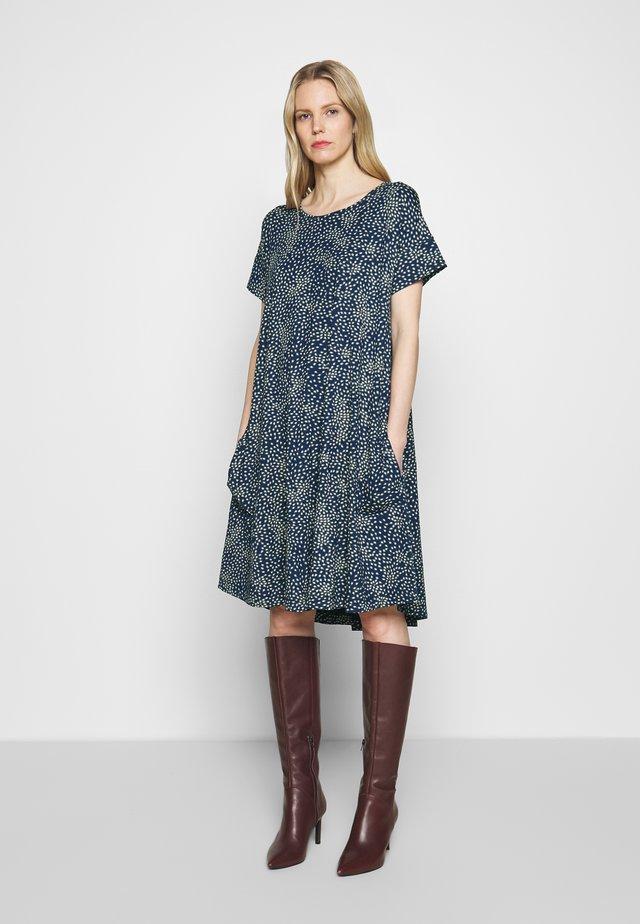 NADRAS - Jersey dress - medieval blue