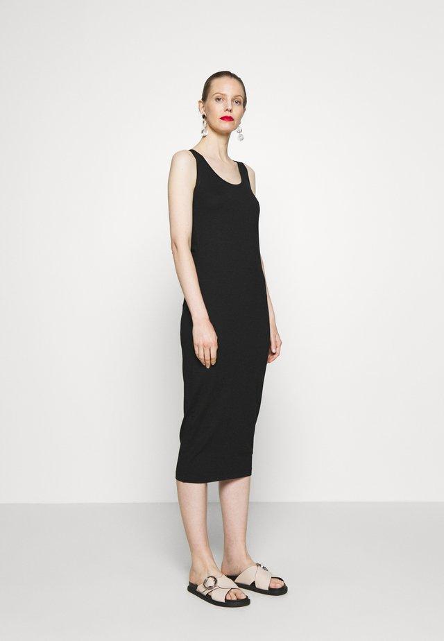 OLYMPIA - Jerseykleid - black