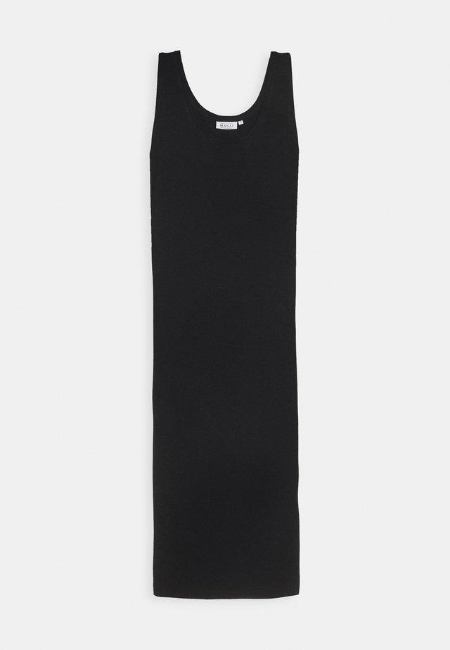 OLYMPIA - Jerseykjoler - black