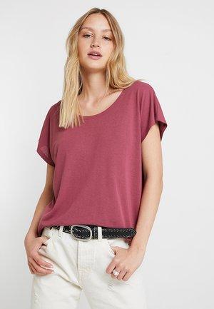 ELLEN  - Basic T-shirt - boysenberry