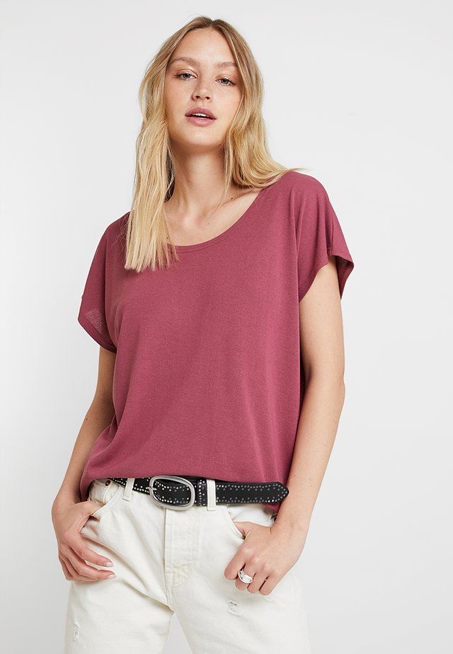 ELLEN  - T-shirt - bas - boysenberry