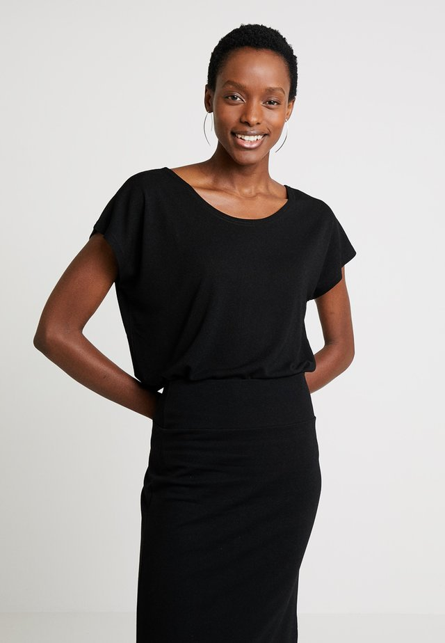 ELLEN  - T-shirt - bas - black
