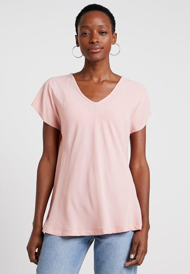 KALLO - Blus - rose tan