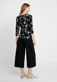 Masai - BIRGITTA - Long sleeved top - black - 2