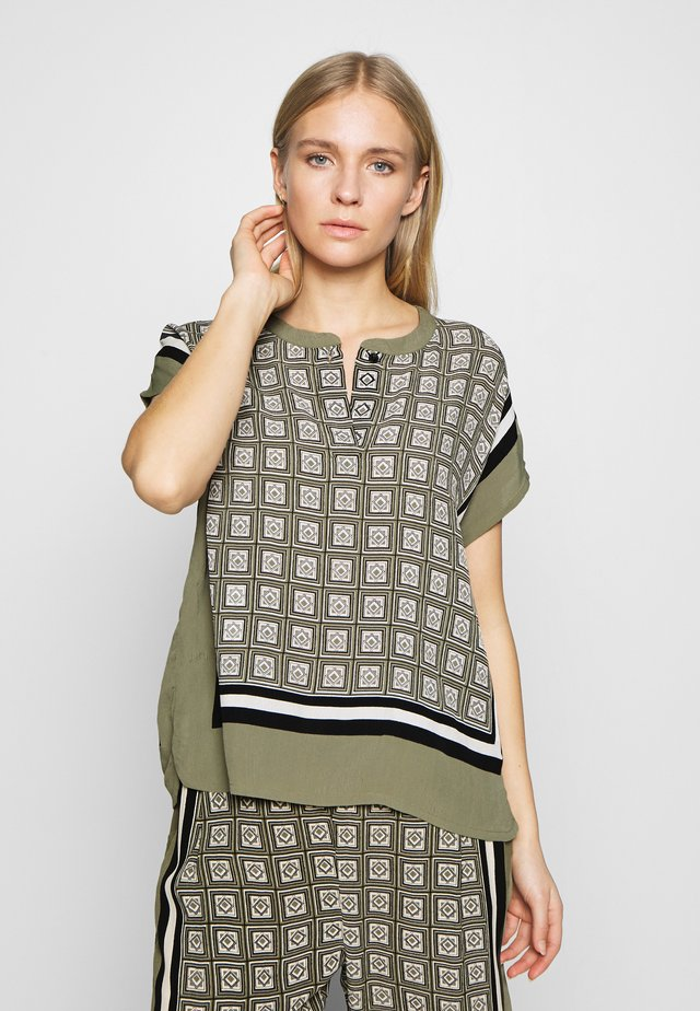 EARLEEN - Blouse - olive