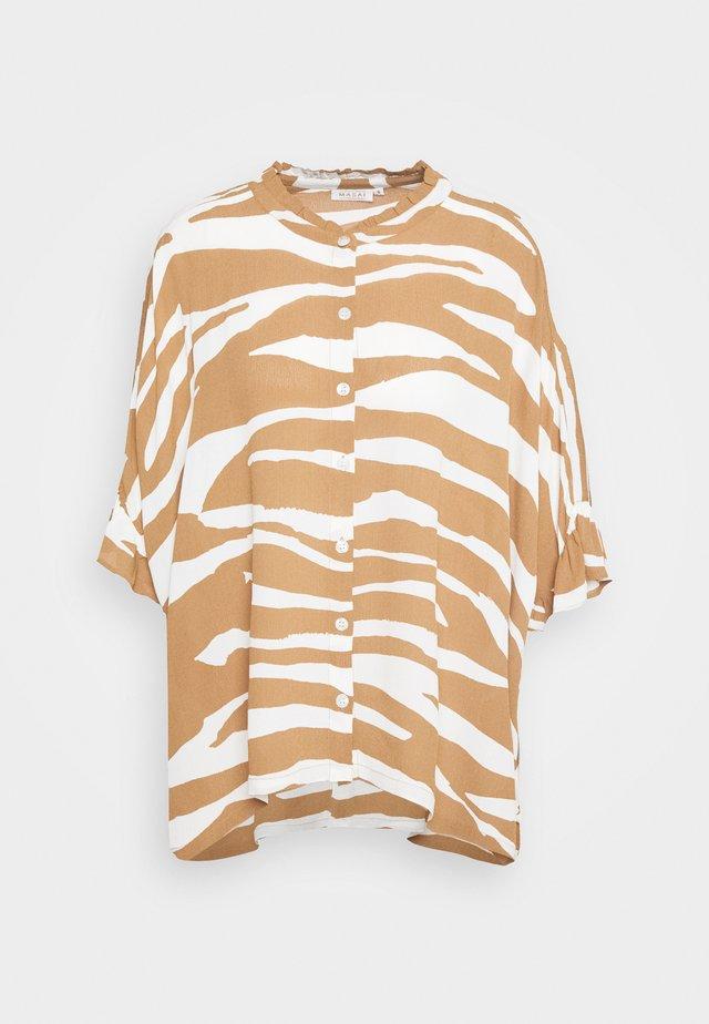 IOYA - Button-down blouse - chipmunk