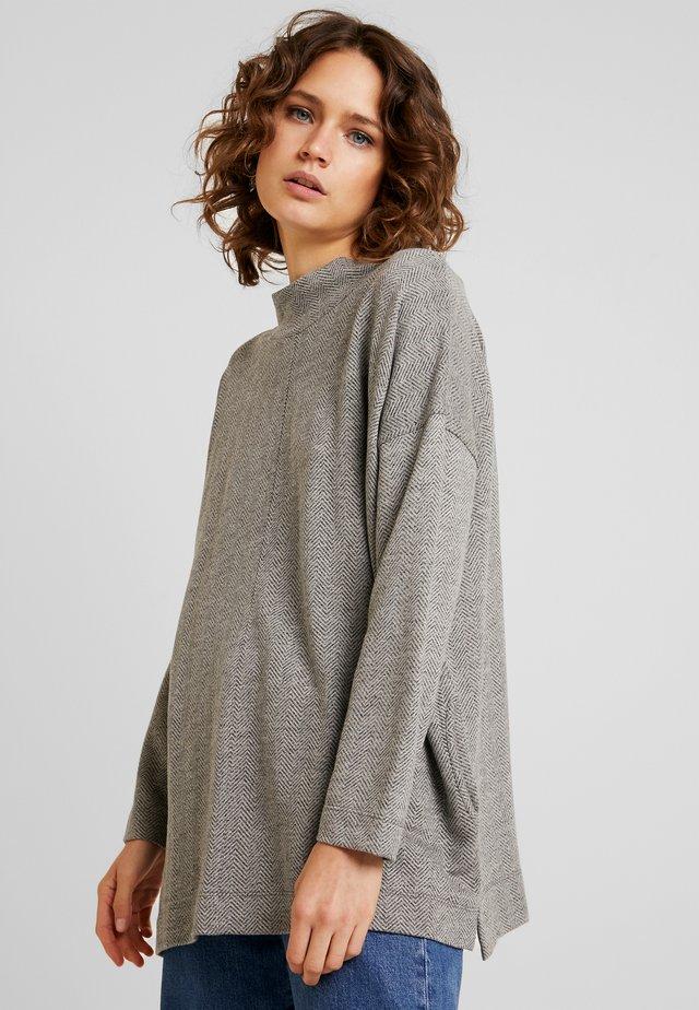 BODIL - Strickpullover - grey