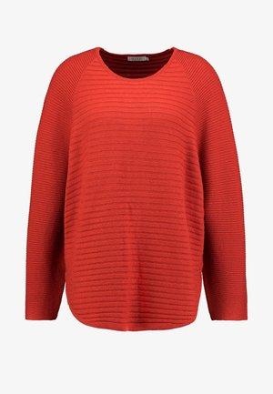 FIONA - Pullover - red ochre