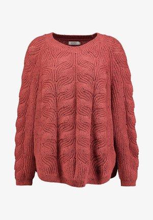 FRANSINE - Pullover - rouge