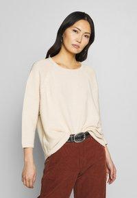 Masai - FATIN - Stickad tröja - whitecap - 0
