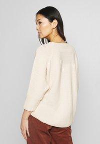 Masai - FATIN - Stickad tröja - whitecap - 2