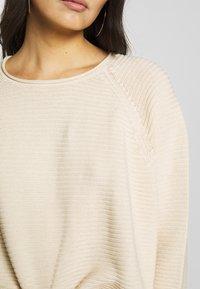 Masai - FATIN - Stickad tröja - whitecap - 5