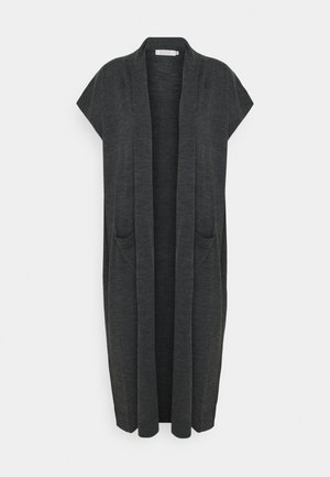 LEE - Strikjakke /Cardigans - dark grey melange